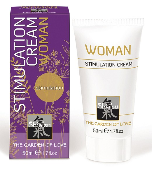 Shiatsu - Stimulationscreme WOMAN - 50 ml