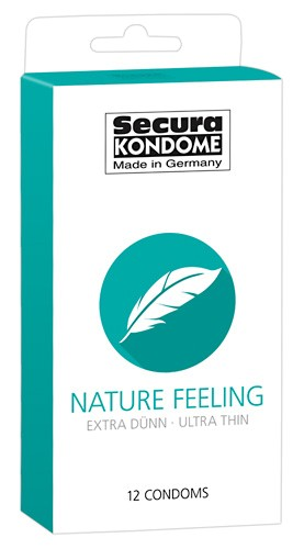 Secura - NATURE FEELING - 12 Kondome
