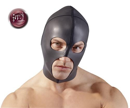 Kopfmaske - Neopren - schwarz