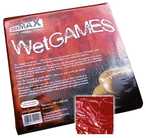 SexMax WetGames Laken - 180x220 - rot