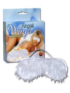 Augenmaske - ANGEL WINGS - weiß