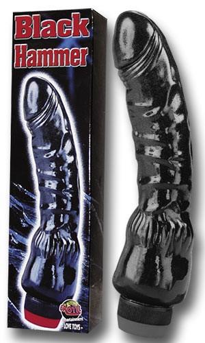 Penis-Vibrator - BLACK-HAMMER