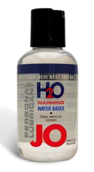 System JO Lubricant H2O Gleitgel warming