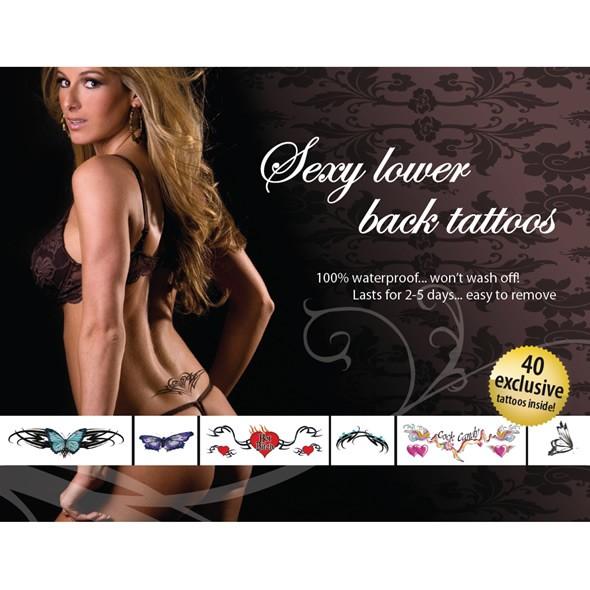 Temporary Tattoo Set - Sexy Lower Back (Poansatz)
