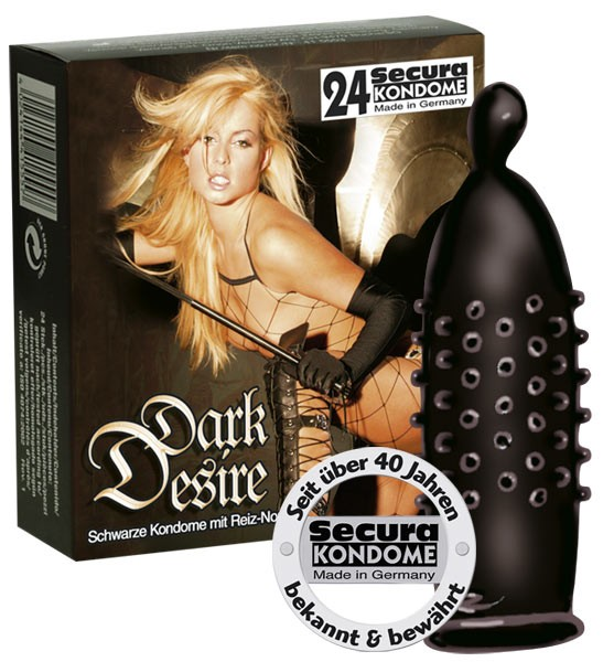 Secura - DARK DESIRE - 24 Kondome