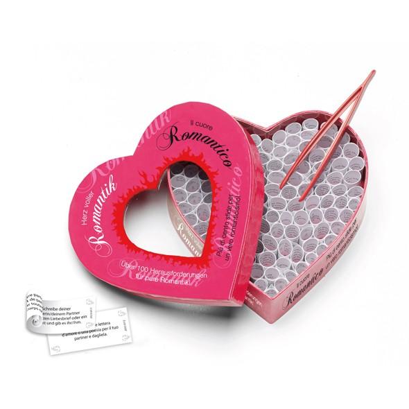Herz voller Romantik - Partnerspiel