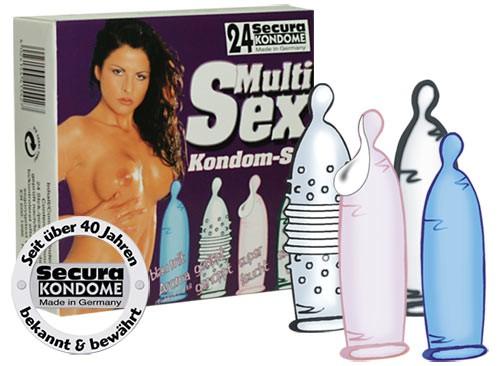 Secura - MULTI SEX - 24 Kondome