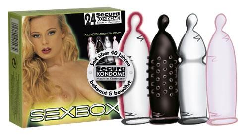 Secura - SEXBOX - 24 Kondome