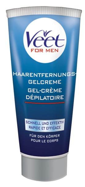 Veet for Men - Haarentfernungs-Gelcreme - 200 ml