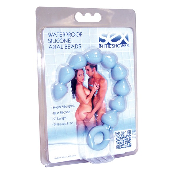 Analkette - ANAL BEADS - blue