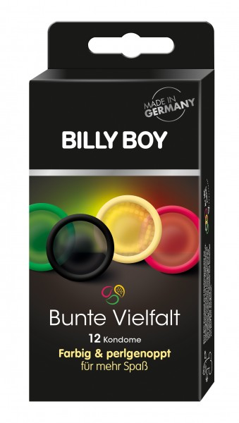 Billy Boy - BUNTE VIELFALT - 12 Kondome