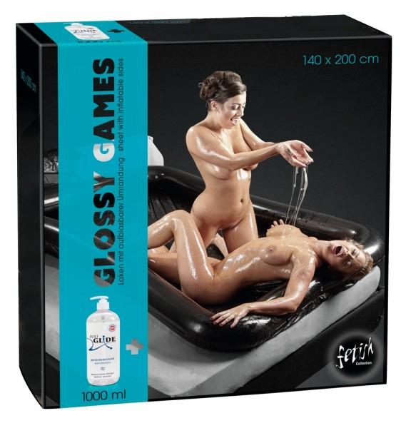 Spielwiese GLOSSY GAMES - 140x200 - schwarz
