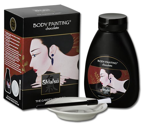 SHIATSU - Body Painting Chocolate - 250ml