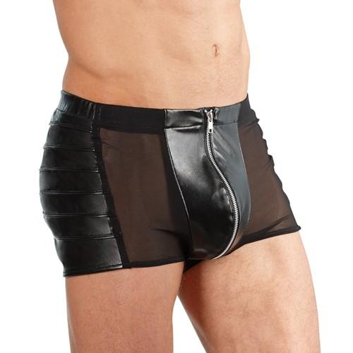 Herrenpants - NETZ - schwarz