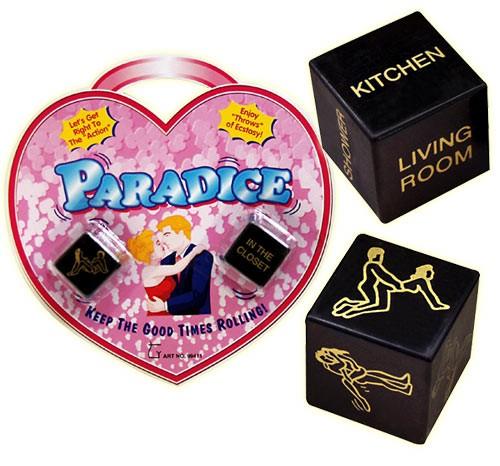 Paradice Sex-Würfel (englisch) - Würfelspiel