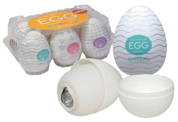 Tenga - Egg 6 Styles Pack - Serie 1