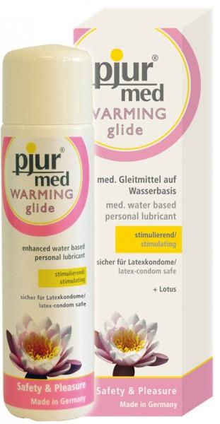 pjur MED warming glide - 100 ml