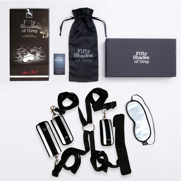 FSOG - 'HARD LIMITS' - Bed Restraints Kit - Fesselset