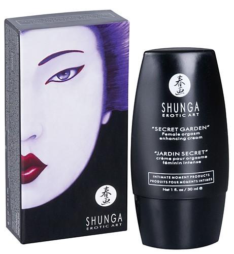 Shunga - ORGASMIC Cream Secret Garden - 30 ml