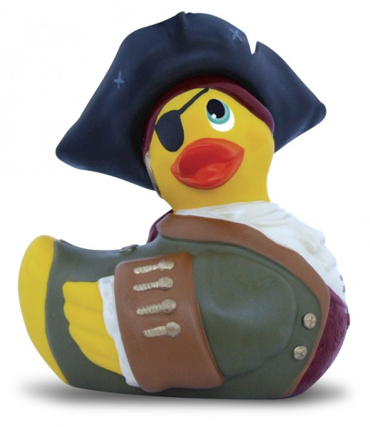 Bade-Ente I rub my duckie - PIRATE - mini