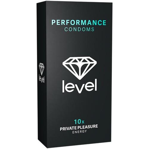 Level - PERFORMANCE - 10 Kondome