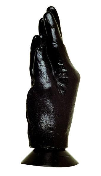 AllBlack - HAND mit Saugfuß - schwarz